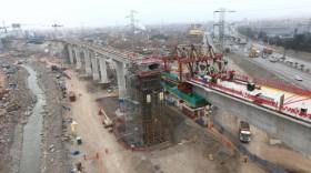 Obras del Tren Eléctrico de Lima - Línea 2